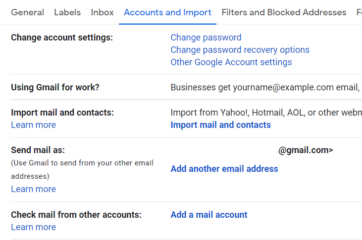 ">add mail accounts"" option"
