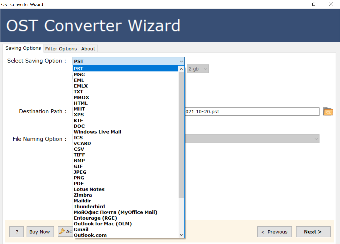 SysKare OST File Converter